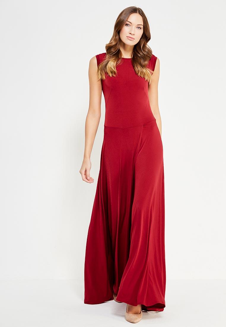 Повседневное платье Alina Assi 11-501-721-Maroon-S