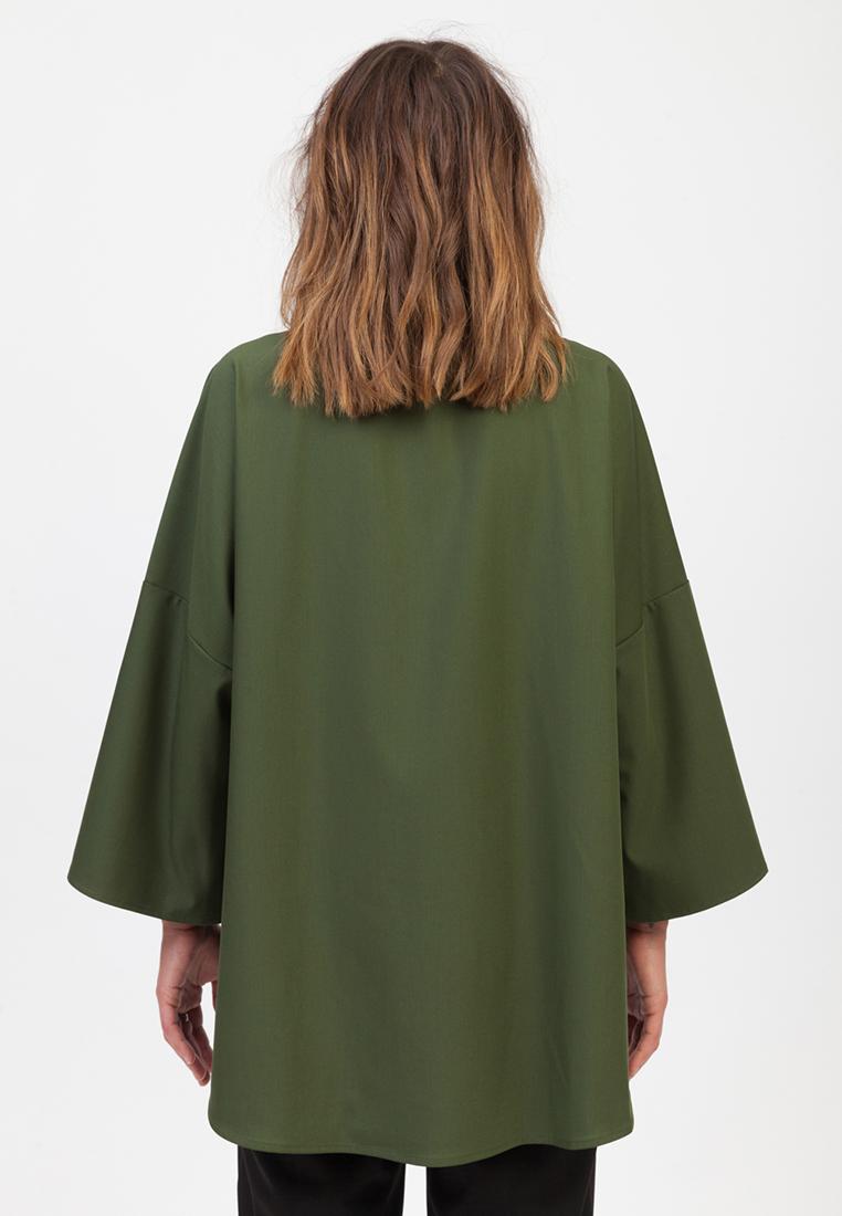 Блуза MELLOW 11-808-11_zelenyi_onesize