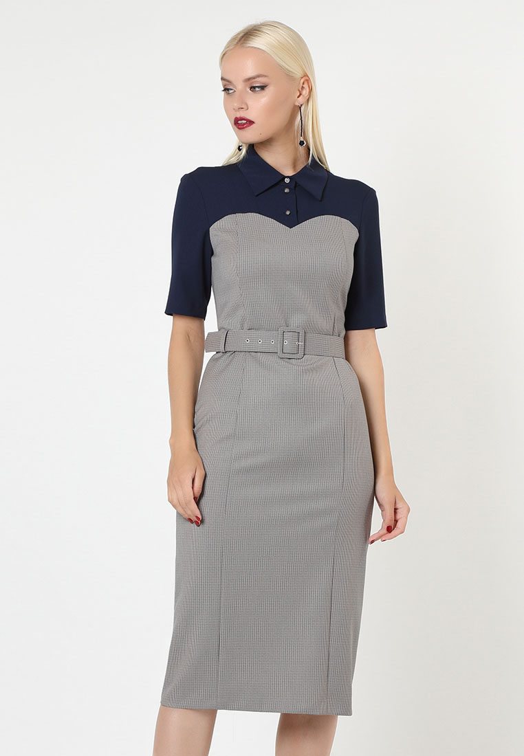 Платье-миди LOVA 210106-s