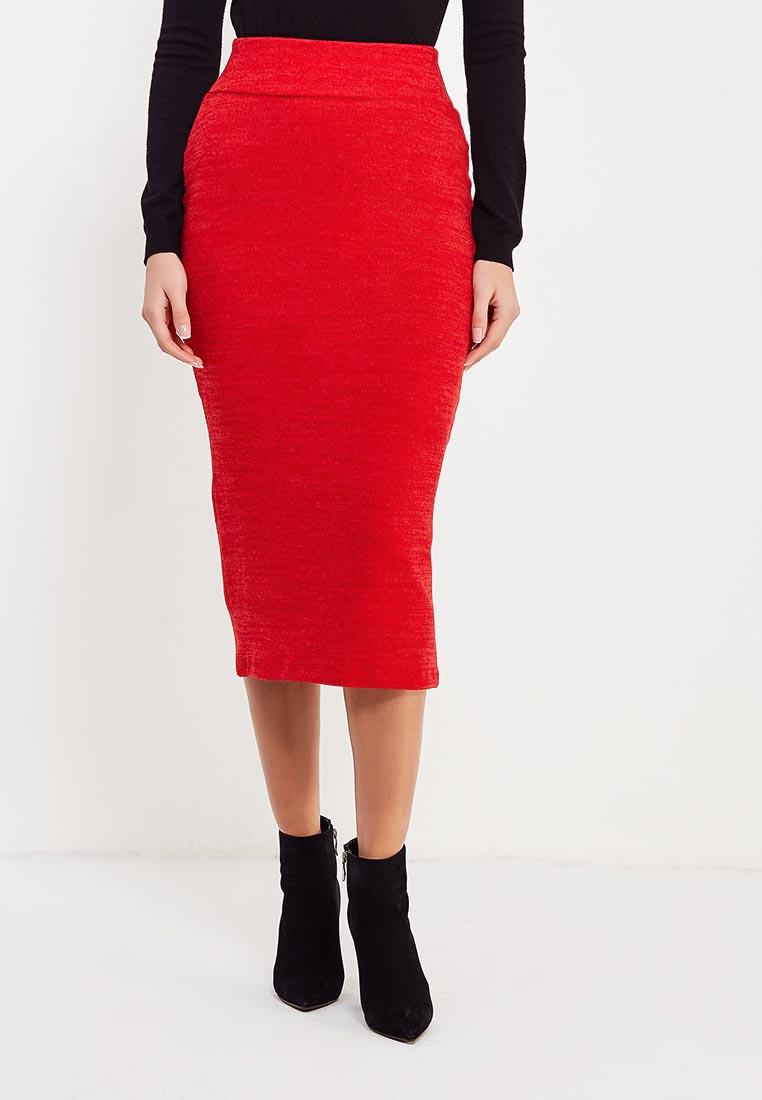 Узкая юбка Alina Assi 19-513-448-Red-L