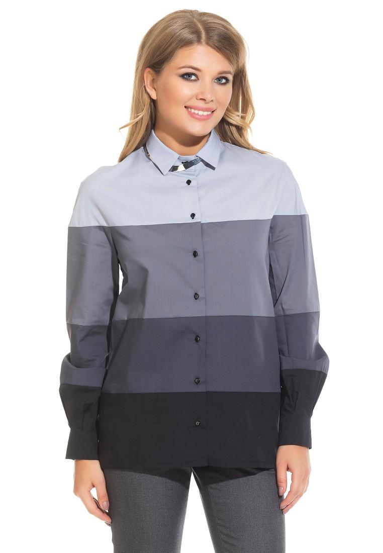 Женские рубашки с длинным рукавом Gloss 19106(03)-36