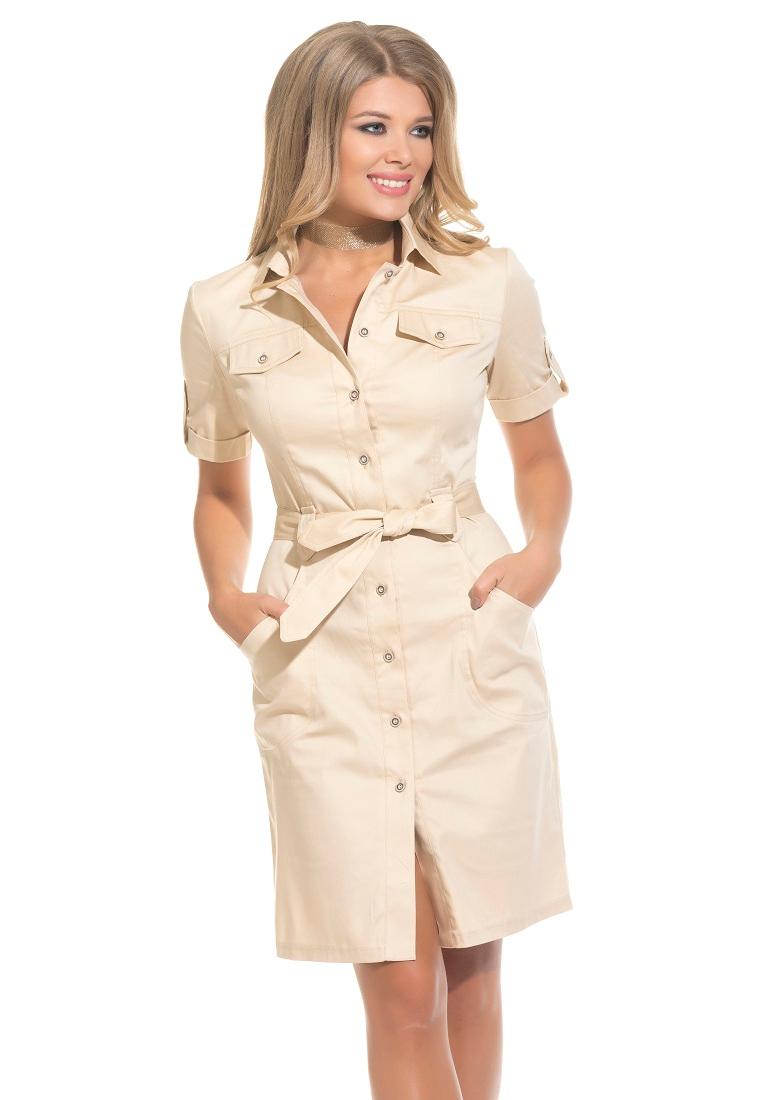 Повседневное платье Gloss 20308(07)-36
