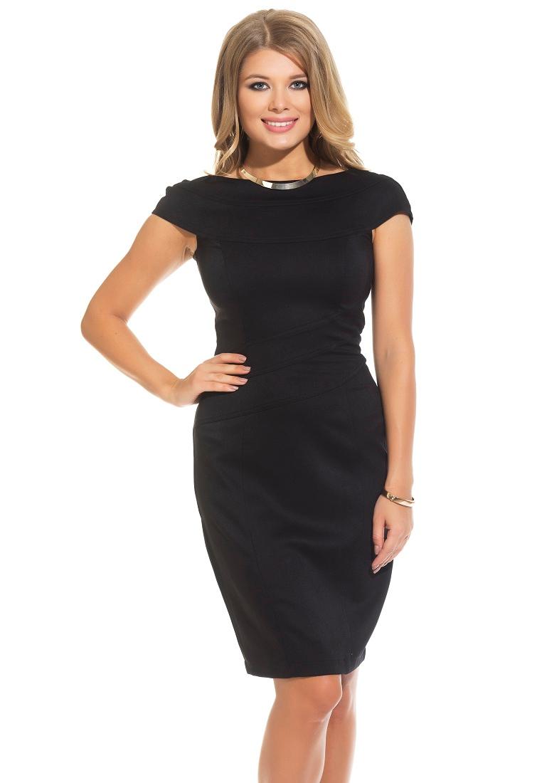 Повседневное платье Gloss 18347(01)-36