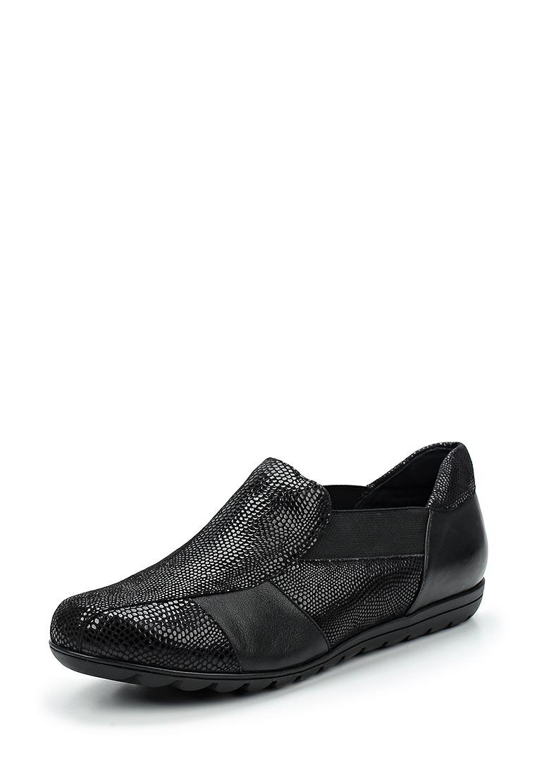Туфли на плоской подошве Vaneli Aroma-black-6