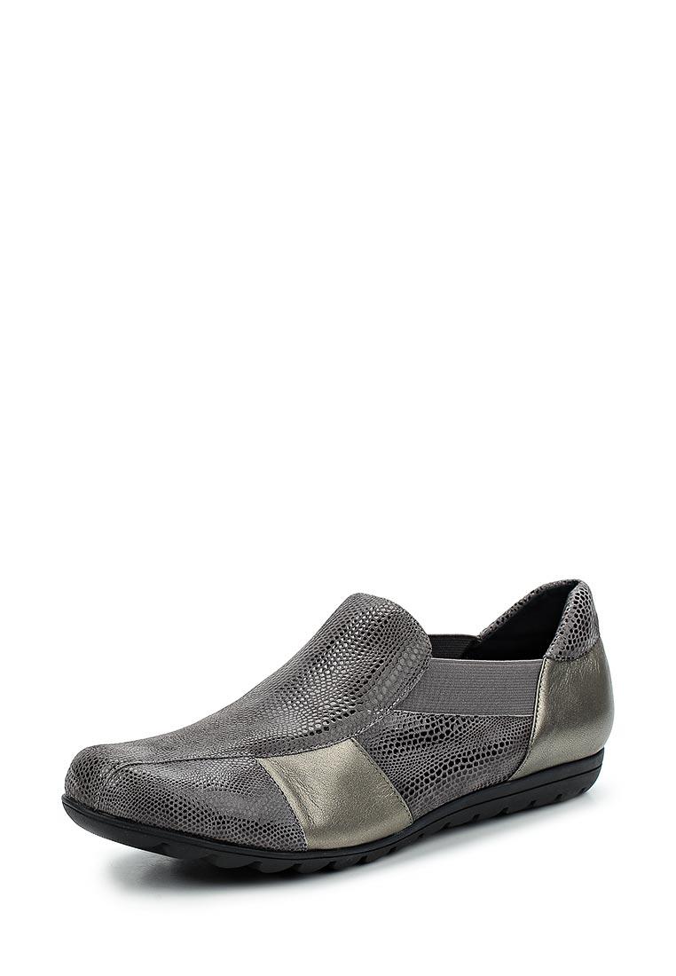 Туфли на плоской подошве Vaneli Aroma-grey-42