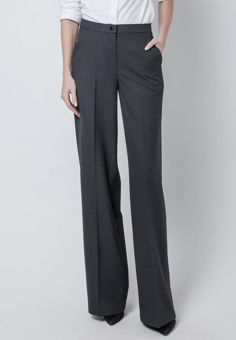 Женские широкие и расклешенные брюки Olga Skazkina (Ольга Сказкина) 160936_серый_40