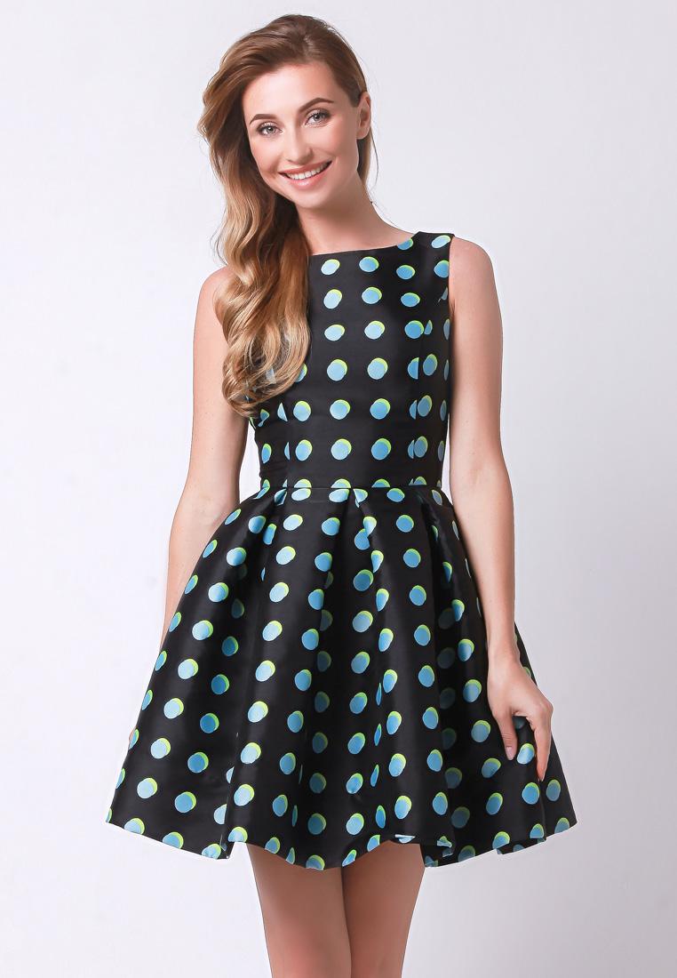 Повседневное платье Olga Skazkina 170434_голубой_40