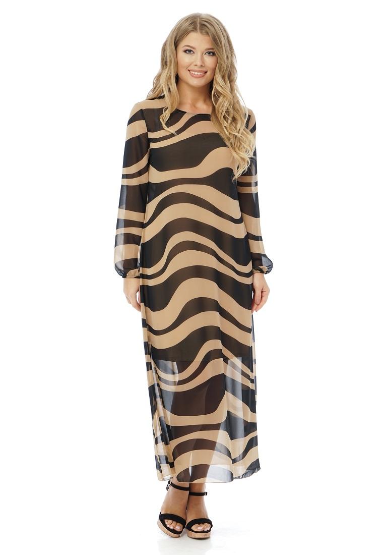 Платье-макси Gloss 20320(07)-36
