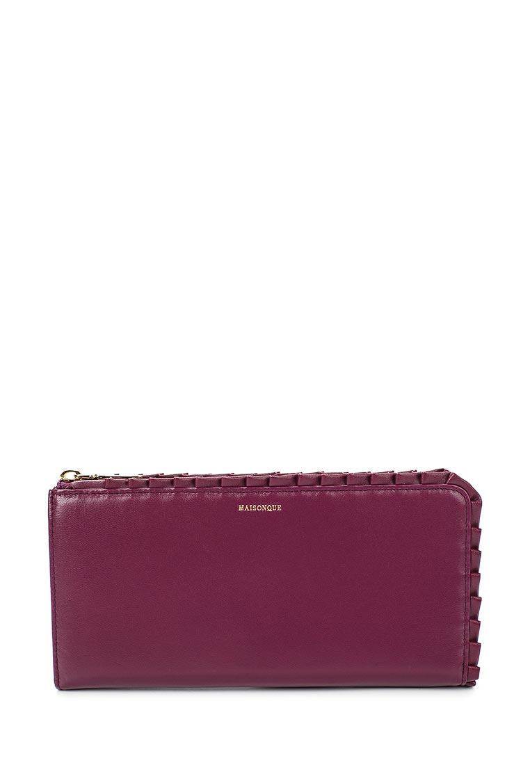 Кошелек MAISONQUE 16BWT05/фиолетовый