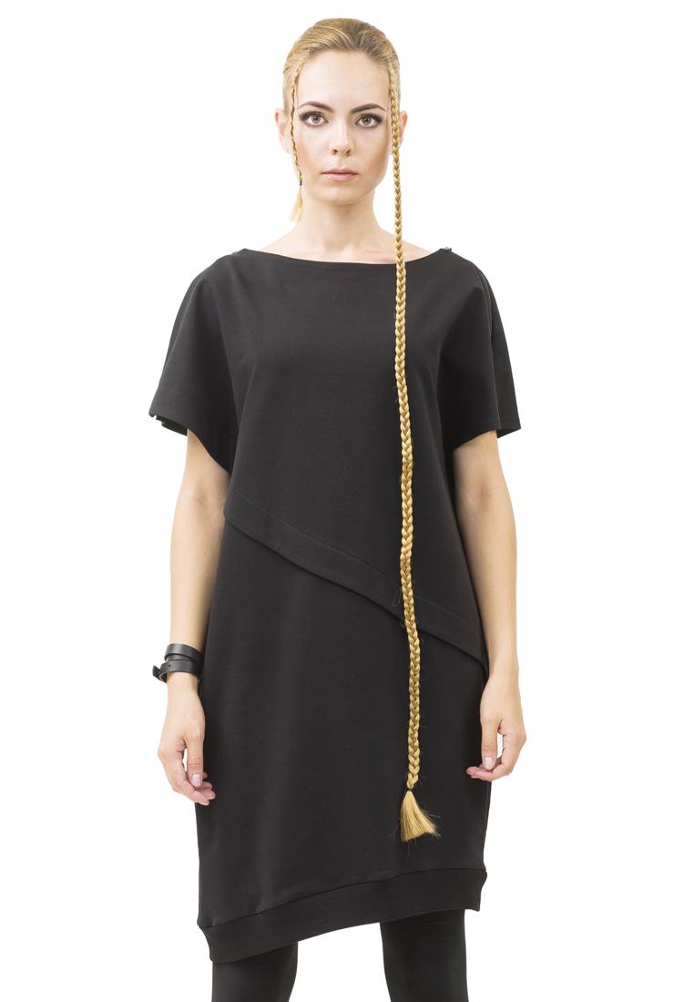 Вязаное платье Pavel Yerokin TRZ-37-черный-40