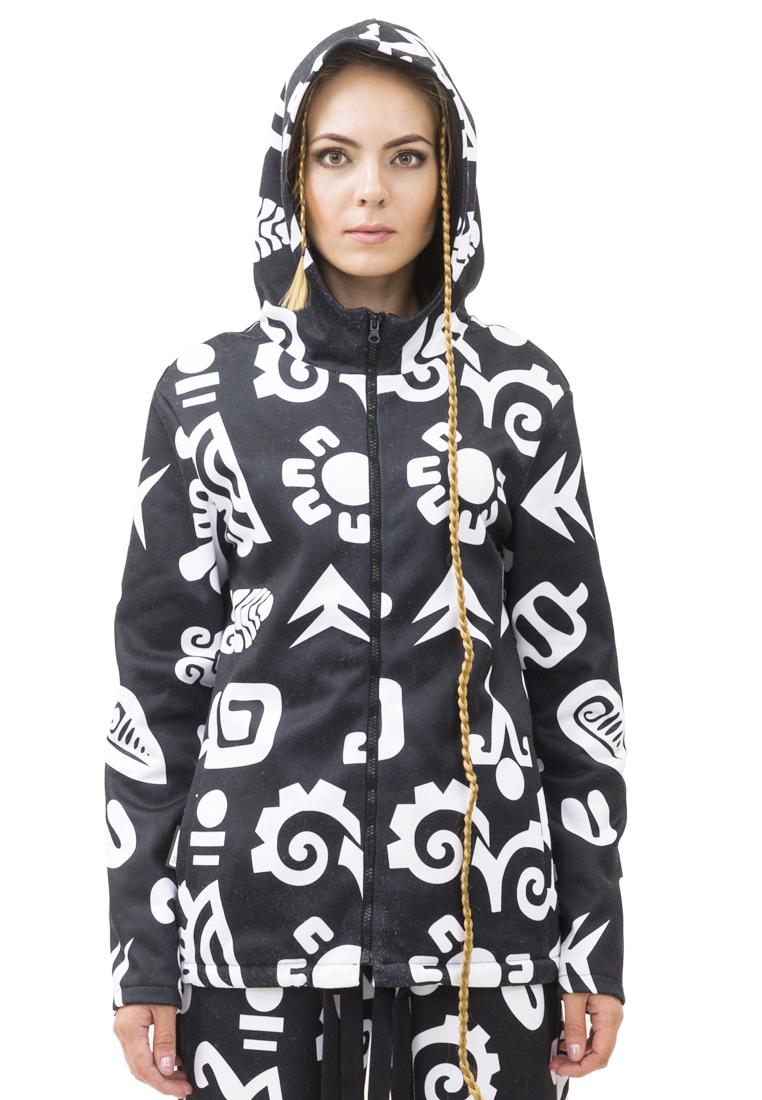 Утепленная куртка Pavel Yerokin SKP-20-черный/белый-40