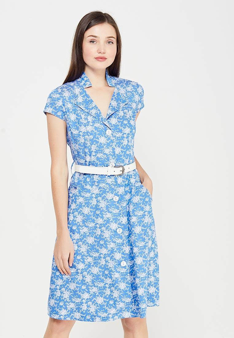 Платье Giulia Rossi 12-569/1/2/ГолубойЦветок42