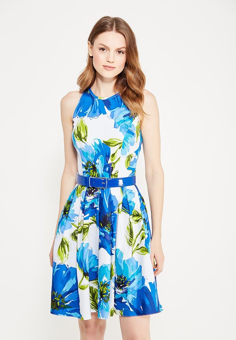 Платье-миди Giulia Rossi 12-571/Васильковый42