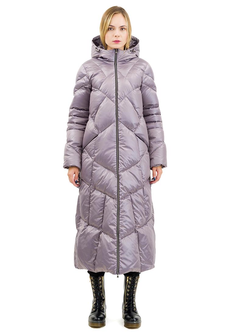 Утепленная куртка DOCTOR E NVSTP-70-серо-коричневый-40