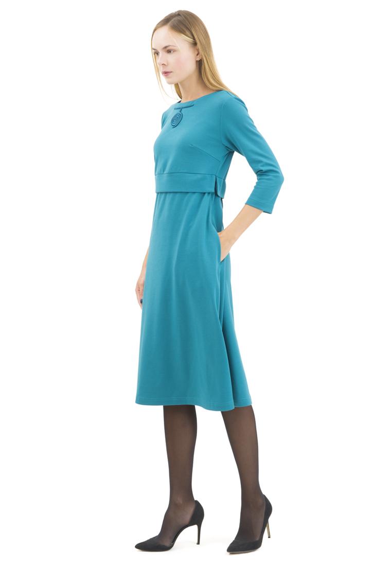 Повседневное платье DOCTOR E RUT-60-морскаяволна-40