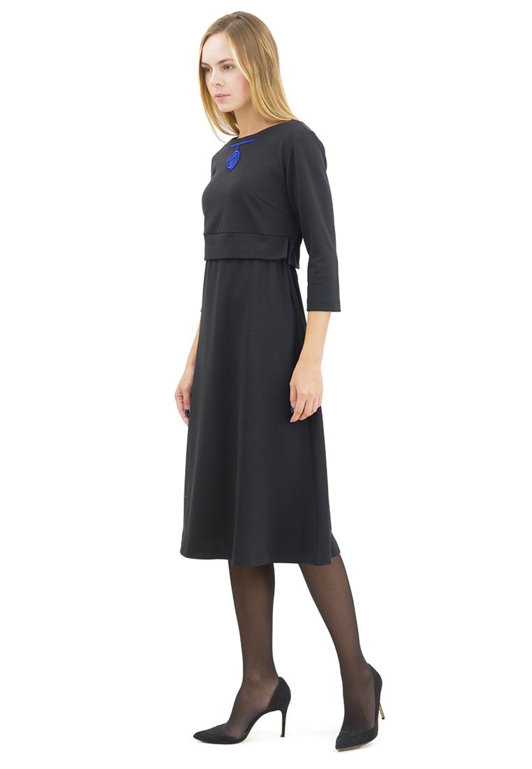 Повседневное платье DOCTOR E RUT-60-черный-40
