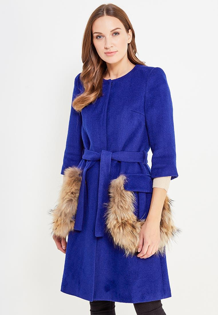 Женские пальто Mazal MA125-S-blue