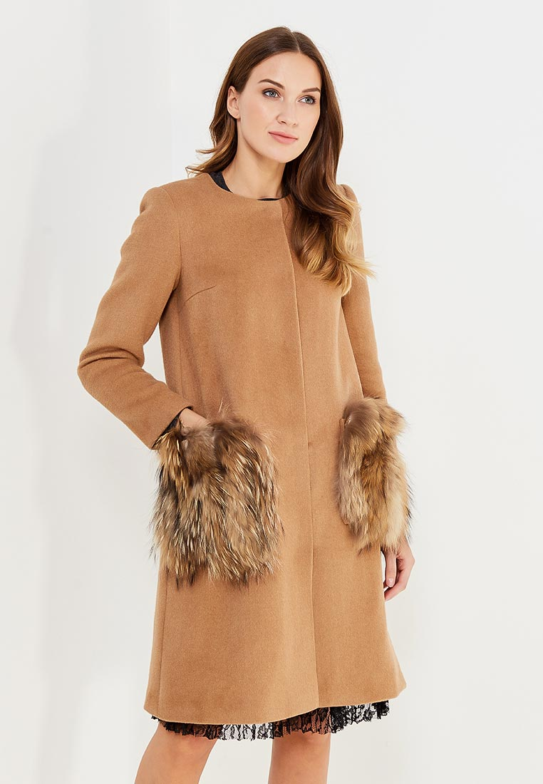 Женские пальто MAZAL MA121-S-beige