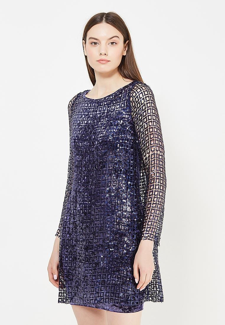 Вечернее / коктейльное платье to be bride NN062B-фиолетовый-2-(компл.: платье)