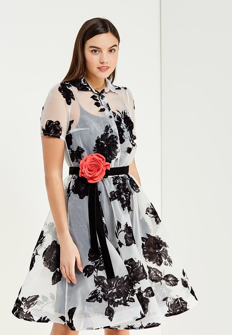 Вечернее / коктейльное платье to be bride ND118B-2-(компл.: в.платье, н.платье,пояс,брошь)