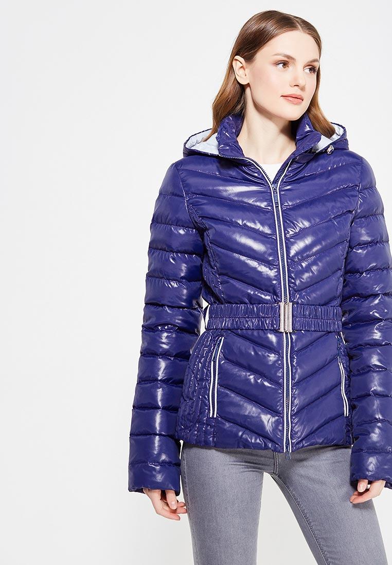 Утепленная куртка IST'OK Виола (Синий/серый светлый) 42
