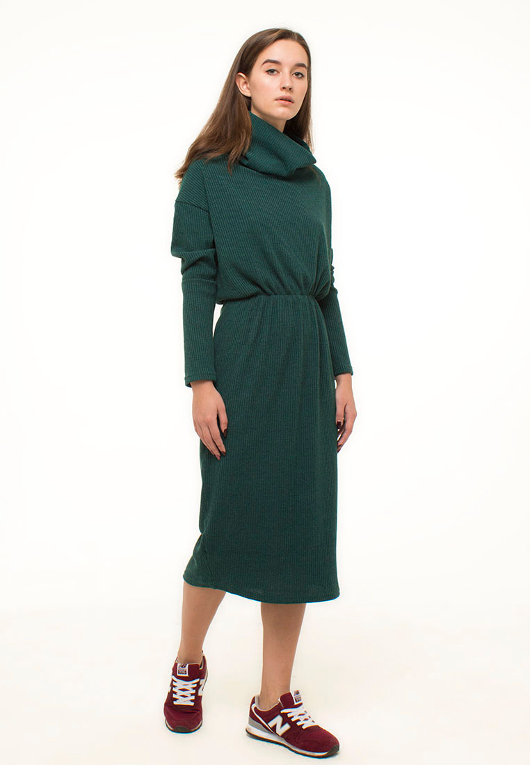 Вязаное платье Kira Mesyats KDRGREEN