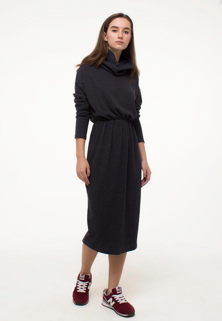 Вязаное платье Kira Mesyats KDRGREY