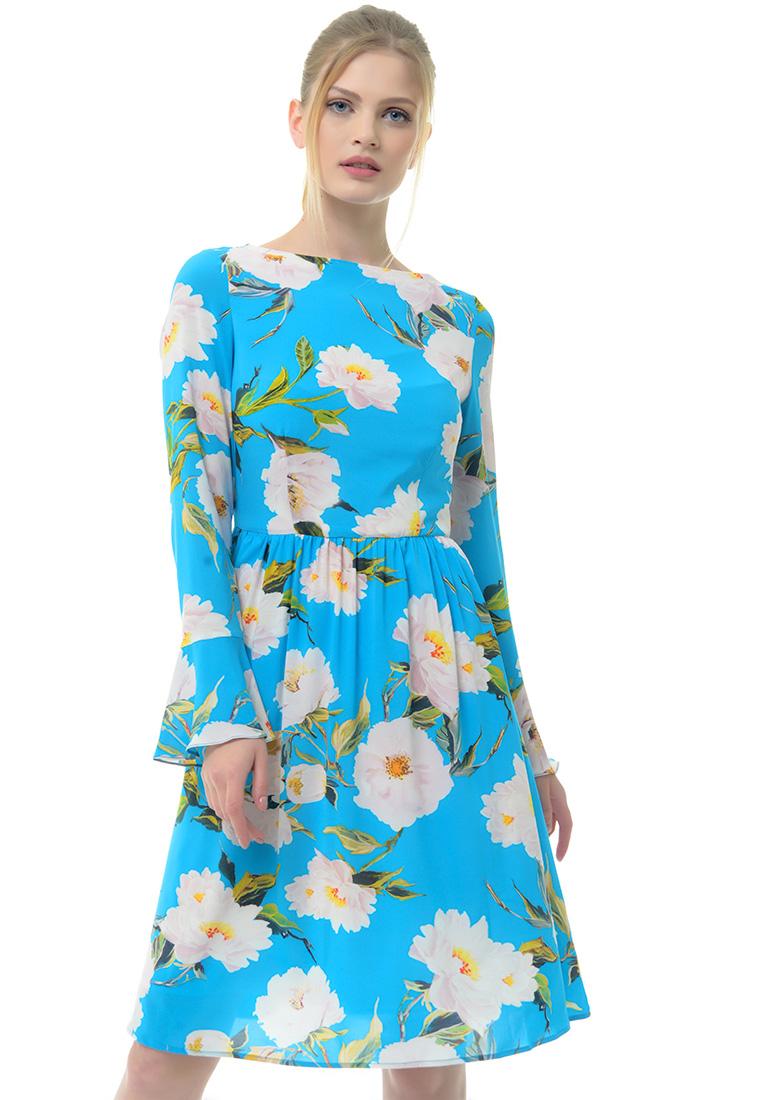 Платье-миди Arefeva Платье L9124 синий L
