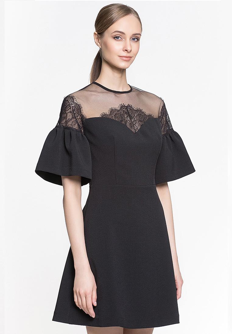 Вечернее / коктейльное платье GENEVIE Платье L 9528 черный  L