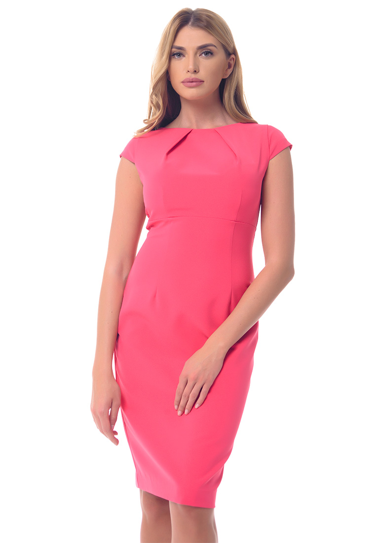 Повседневное платье Genevie Платье  A9574  Розовый L