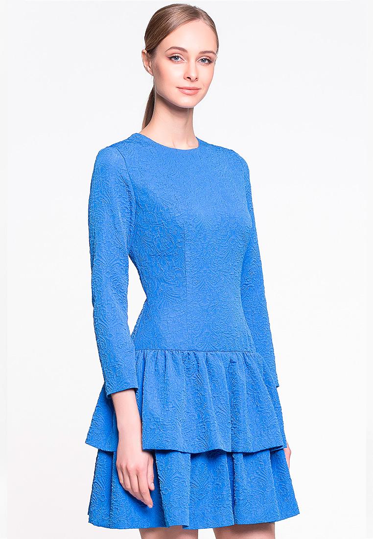 Вечернее / коктейльное платье GENEVIE Платье L 9522 синий L