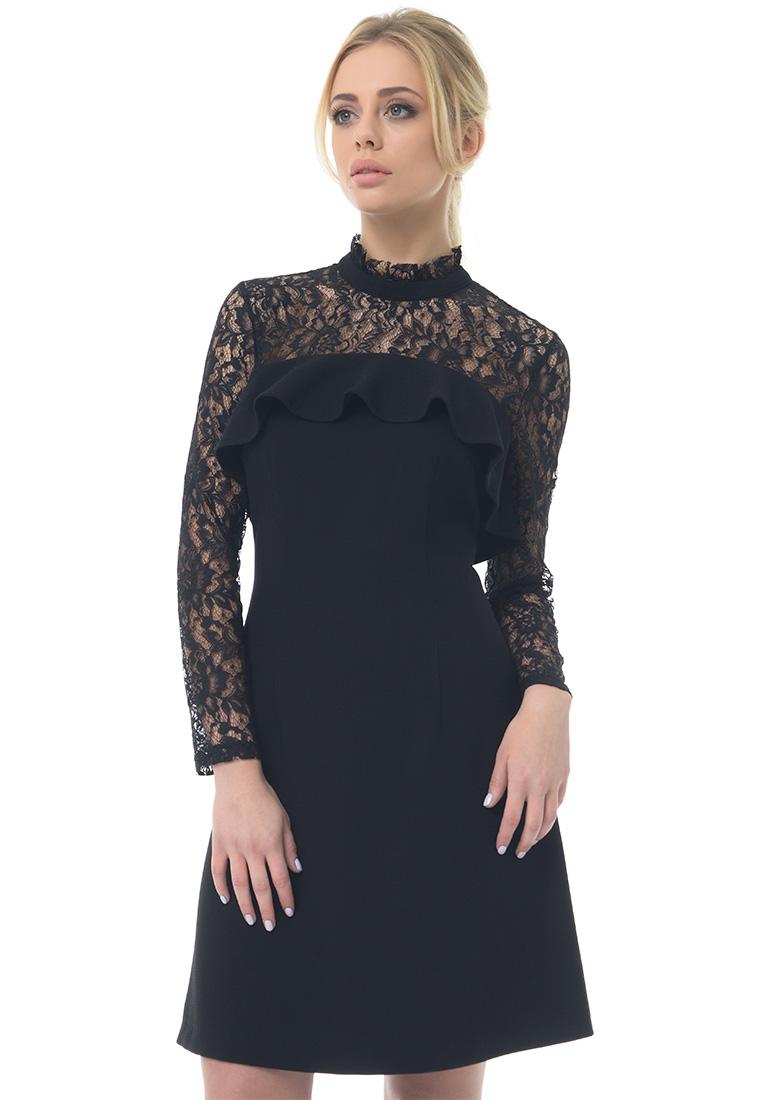 Вечернее / коктейльное платье GENEVIE Платье L 9527 черный  L