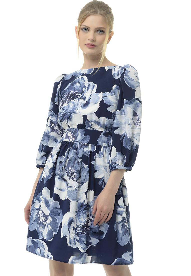 Вечернее / коктейльное платье Arefeva Платье L9114 синий L