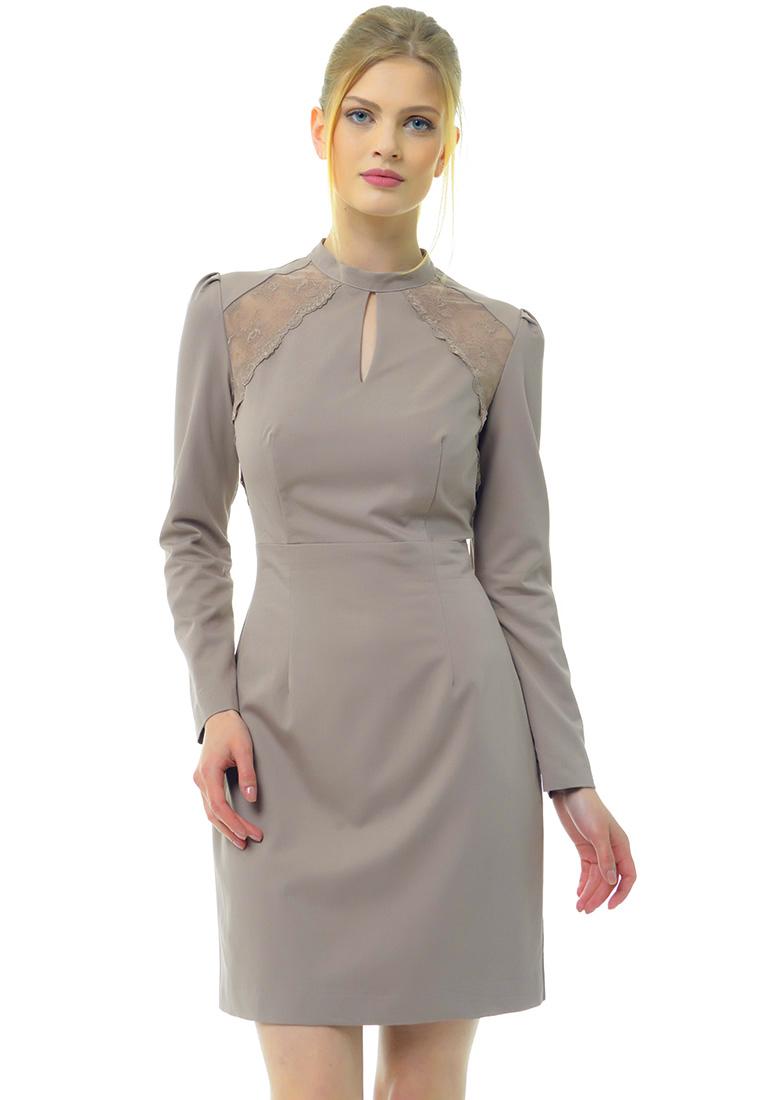 Платье-мини Arefeva Платье 09094 серо-розовый L