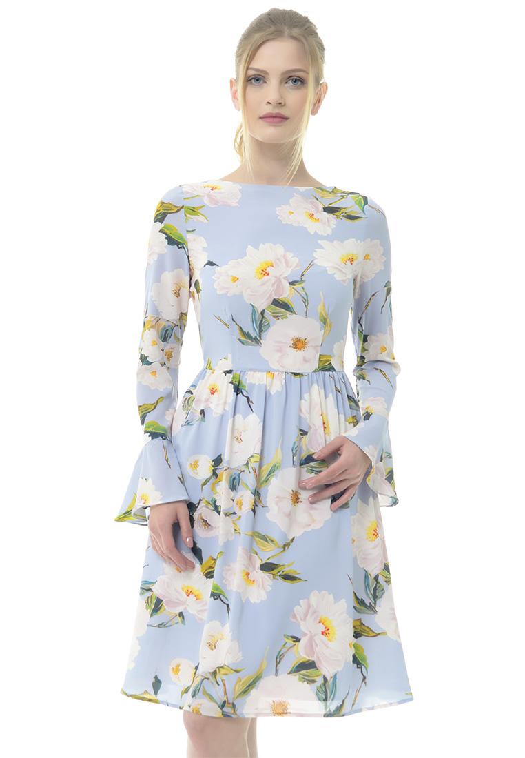 Повседневное платье Arefeva Платье L9115 серый L