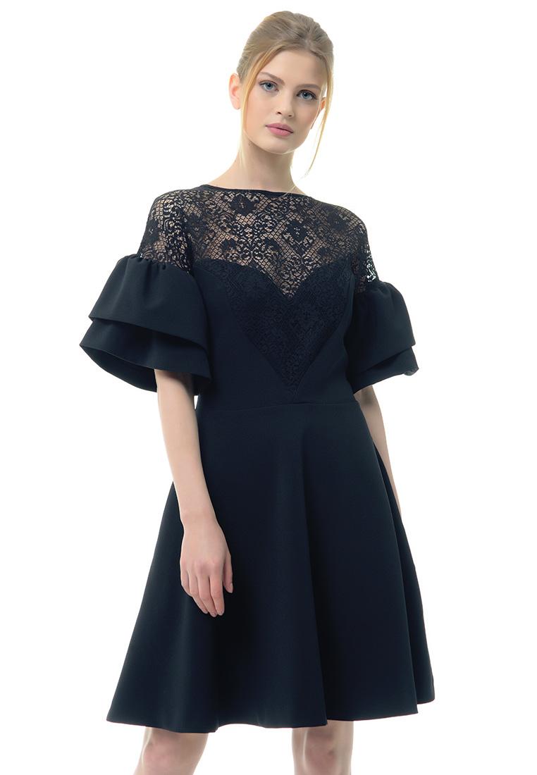 Вечернее / коктейльное платье Arefeva Платье  L9106  Черный L