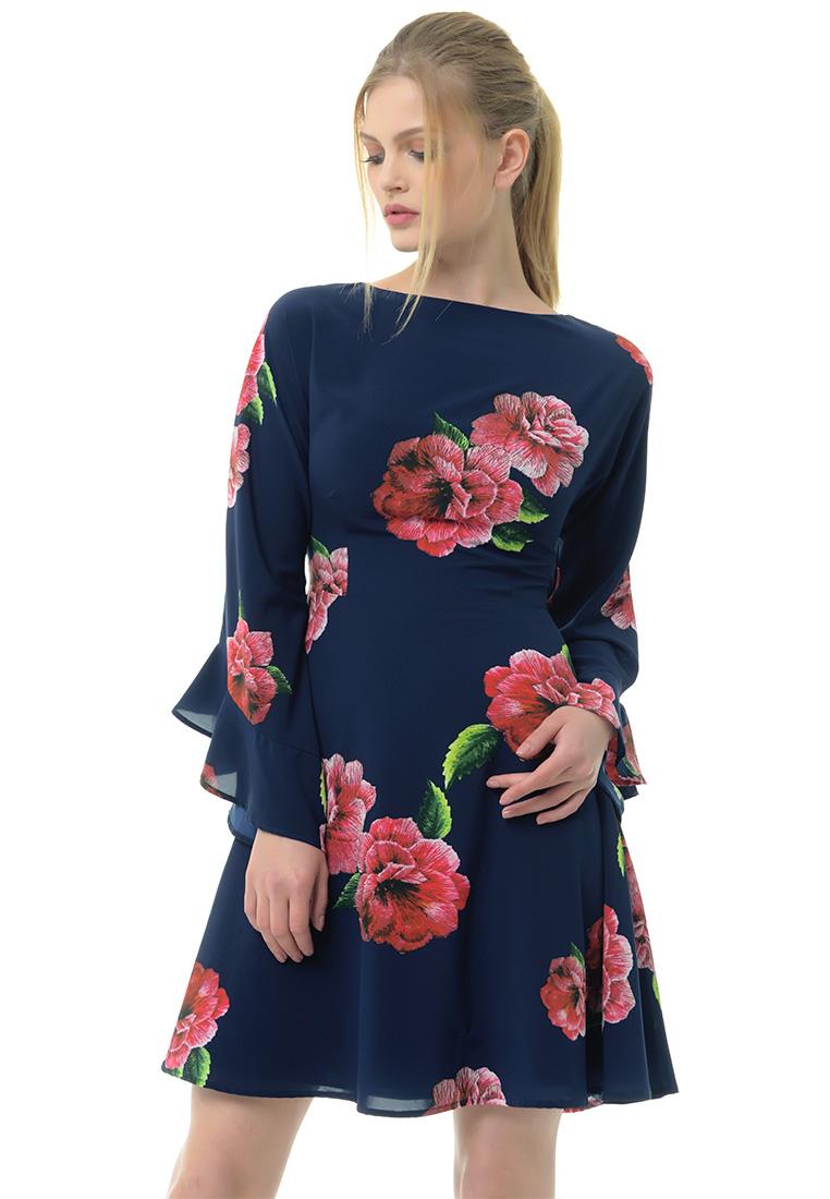 Вечернее / коктейльное платье Arefeva Платье  L9110  Темный синий L