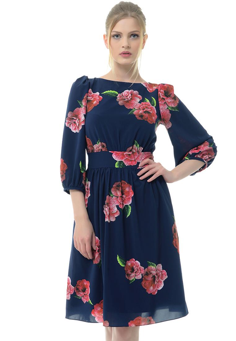 Вечернее / коктейльное платье Arefeva Платье  L9118  Темный синий L