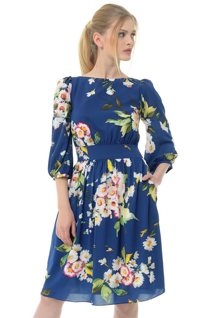 Вечернее / коктейльное платье Arefeva Платье  L9120  Темный синий L