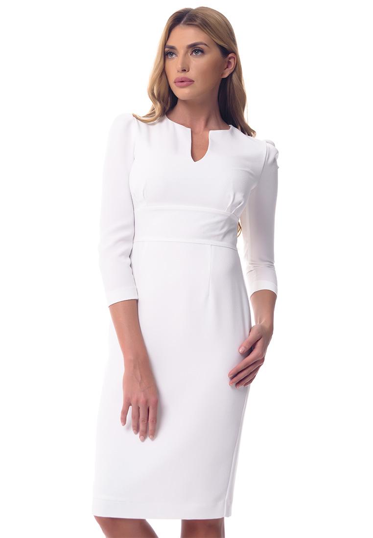Платье-миди GENEVIE Платье  L9539 Светлый Желтый  L