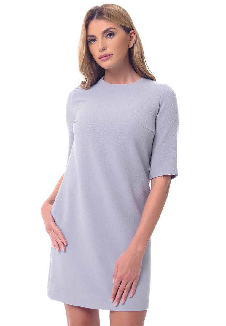 Повседневное платье Genevie Платье L9556 Серый  L