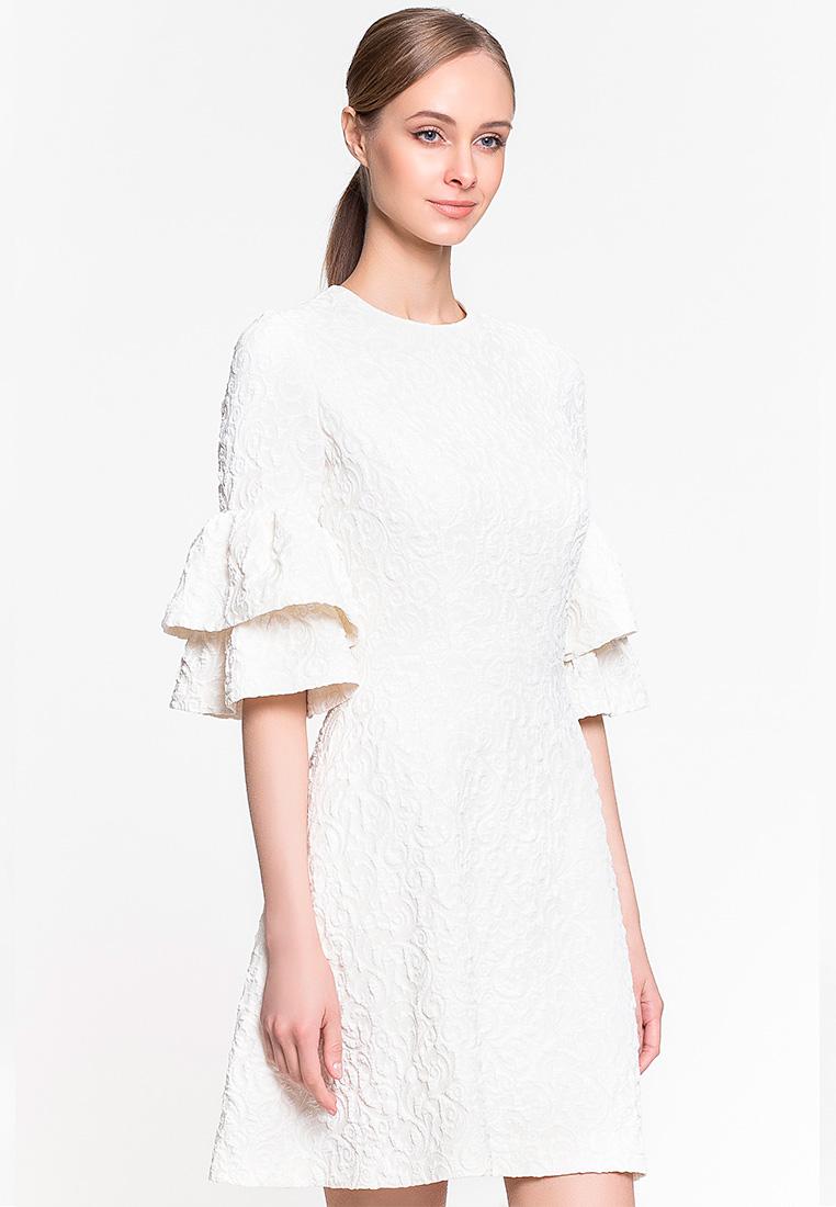 Вечернее / коктейльное платье GENEVIE Платье L 9530 светло-желтый M