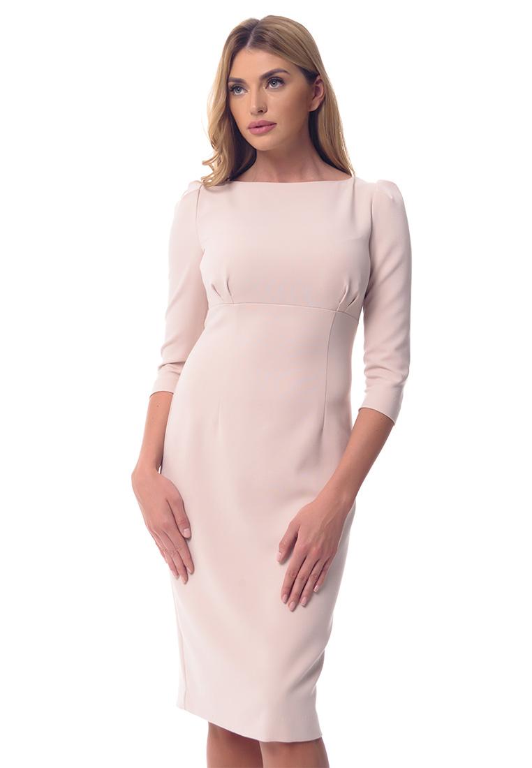 Повседневное платье GENEVIE Платье L9560 Бежевый  L