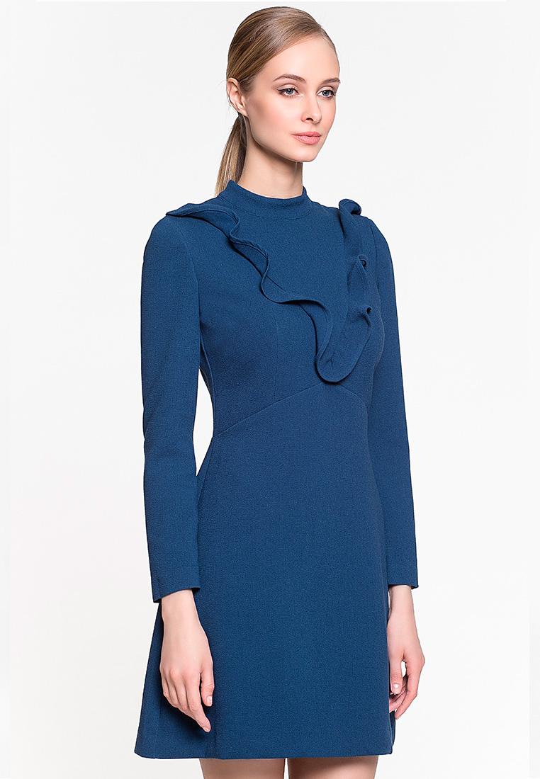 Вечернее / коктейльное платье GENEVIE Платье L 9504 темно-синий L