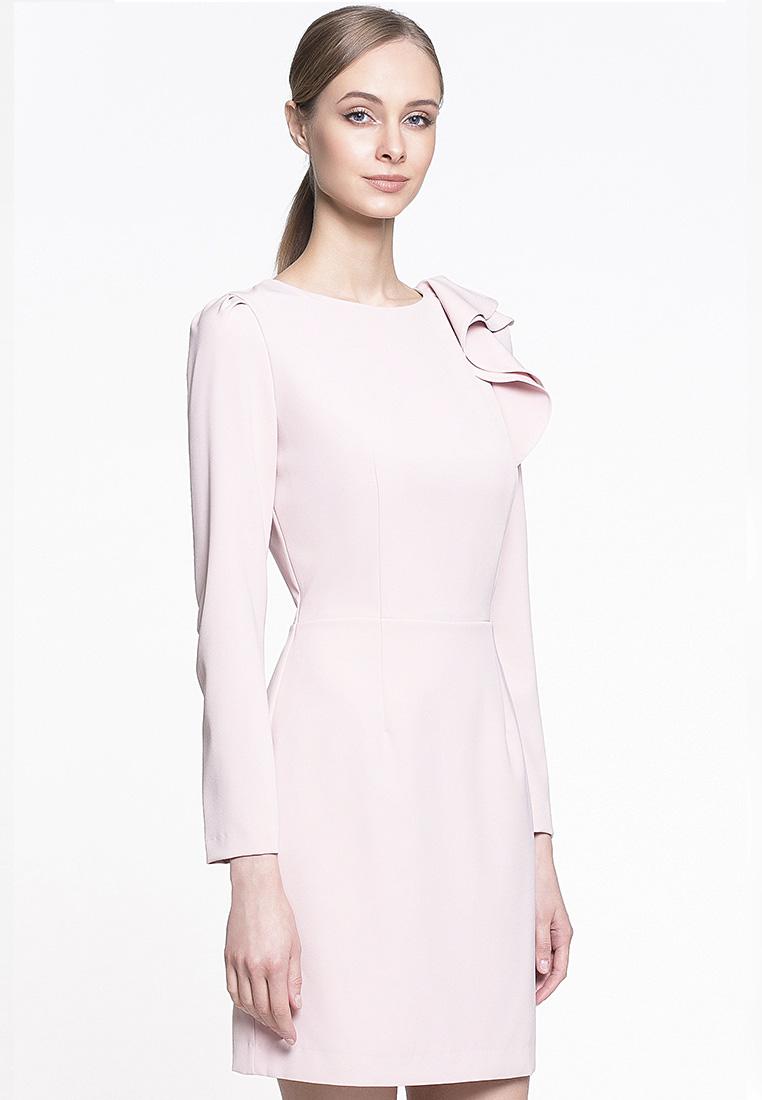 Вечернее / коктейльное платье GENEVIE Платье L 9515 Бежево розовый L