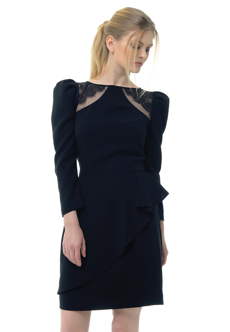 Вечернее / коктейльное платье Arefeva Платье  L 9108  Черный  M