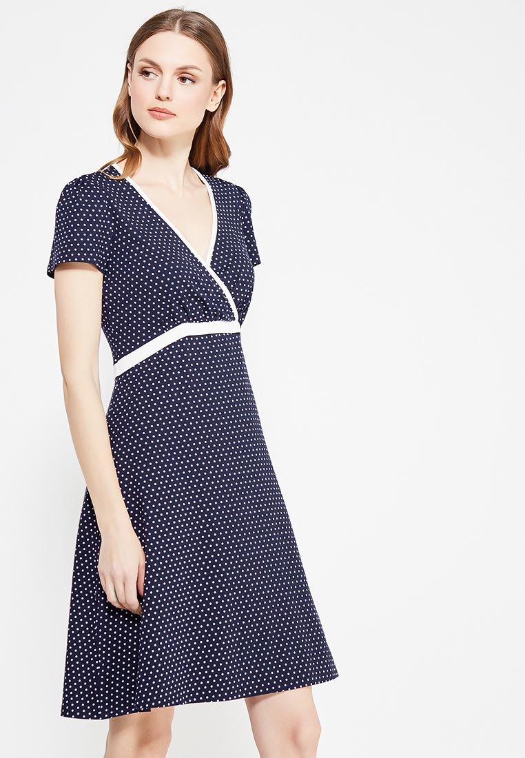 Платье-миди Giulia Rossi 12-363/2/Синий44