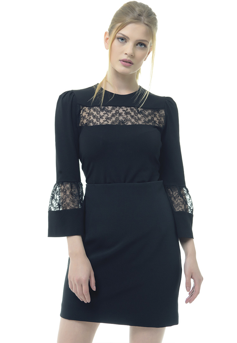 Женские боди Arefeva Блуза-боди A5197 черный L