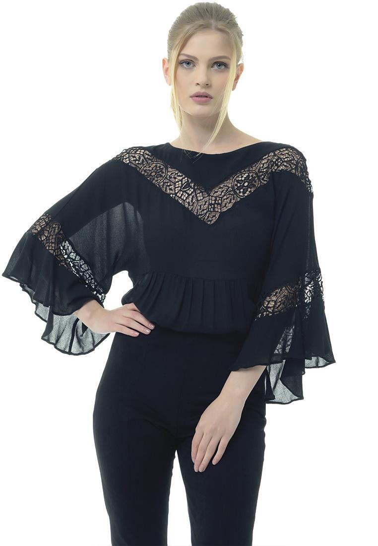 Женские боди Arefeva Блуза-боди L5200 черный L