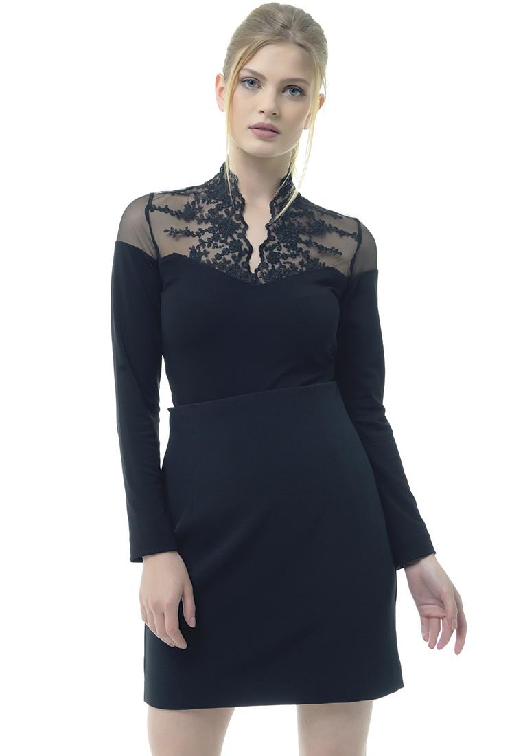 Женские боди Arefeva Блуза-боди L5214 черный L
